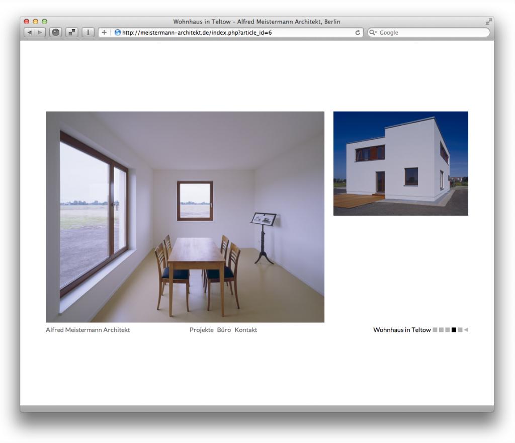 Alfred Meistermann Architekt, Berlin (Projektseite)