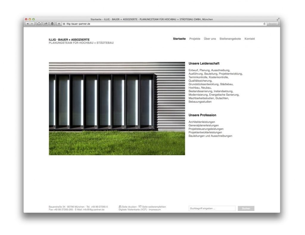 ILLIG · BAUER + ASSOZIIERTE, Planungsteam für Hochbau + Städtebau