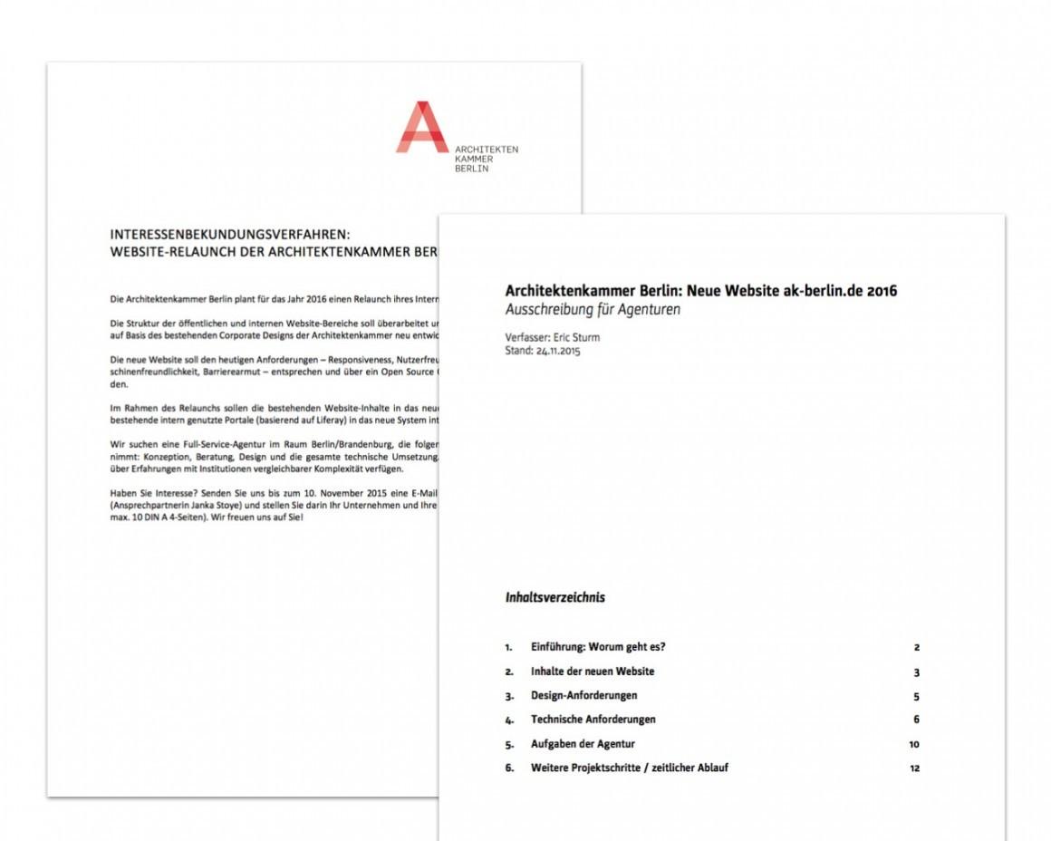 Website Relaunch Der Architektenkammer Berlin Beratung