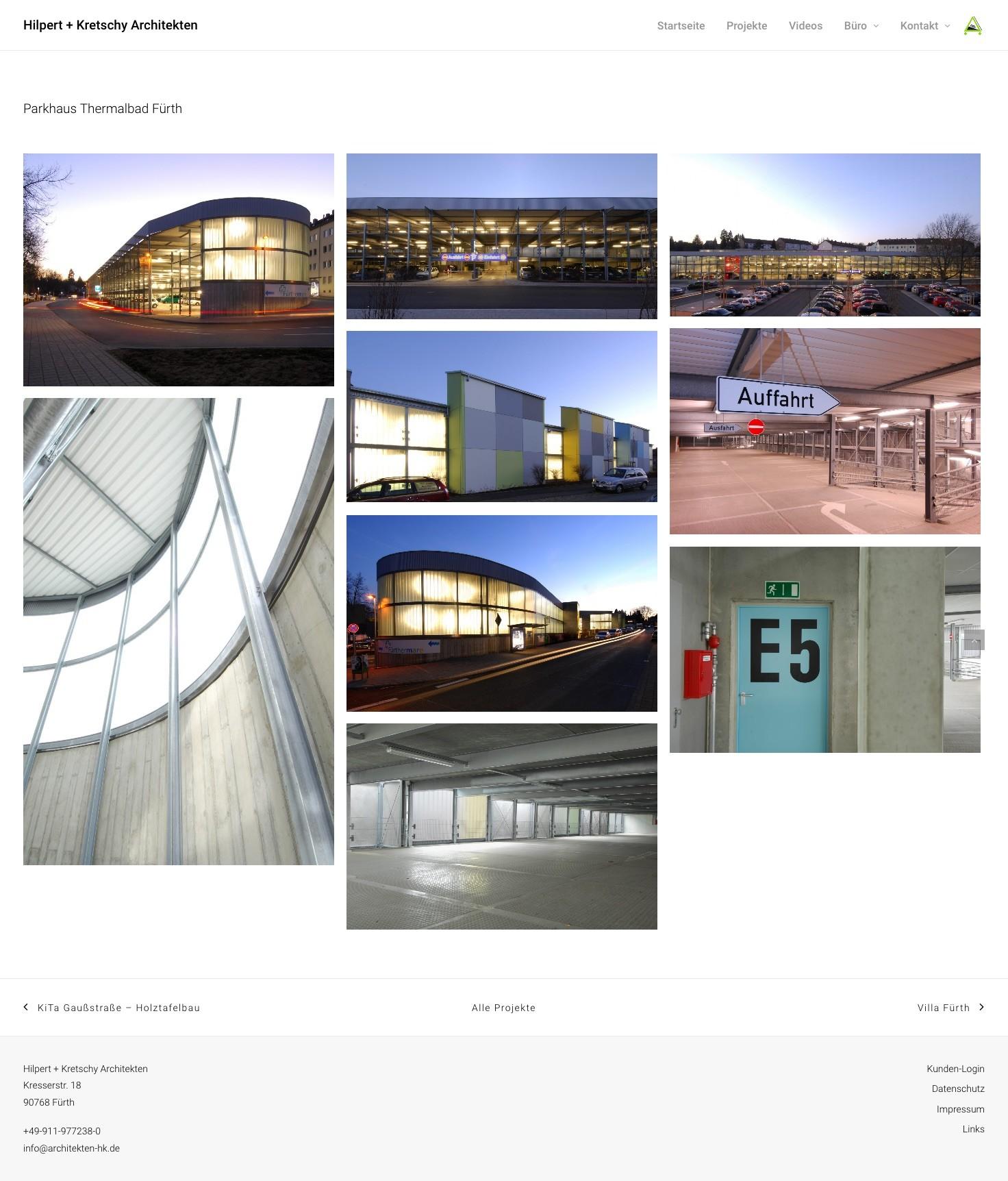 Eine Projektseite von Hilpert + Kretschy Architekten, Fürth