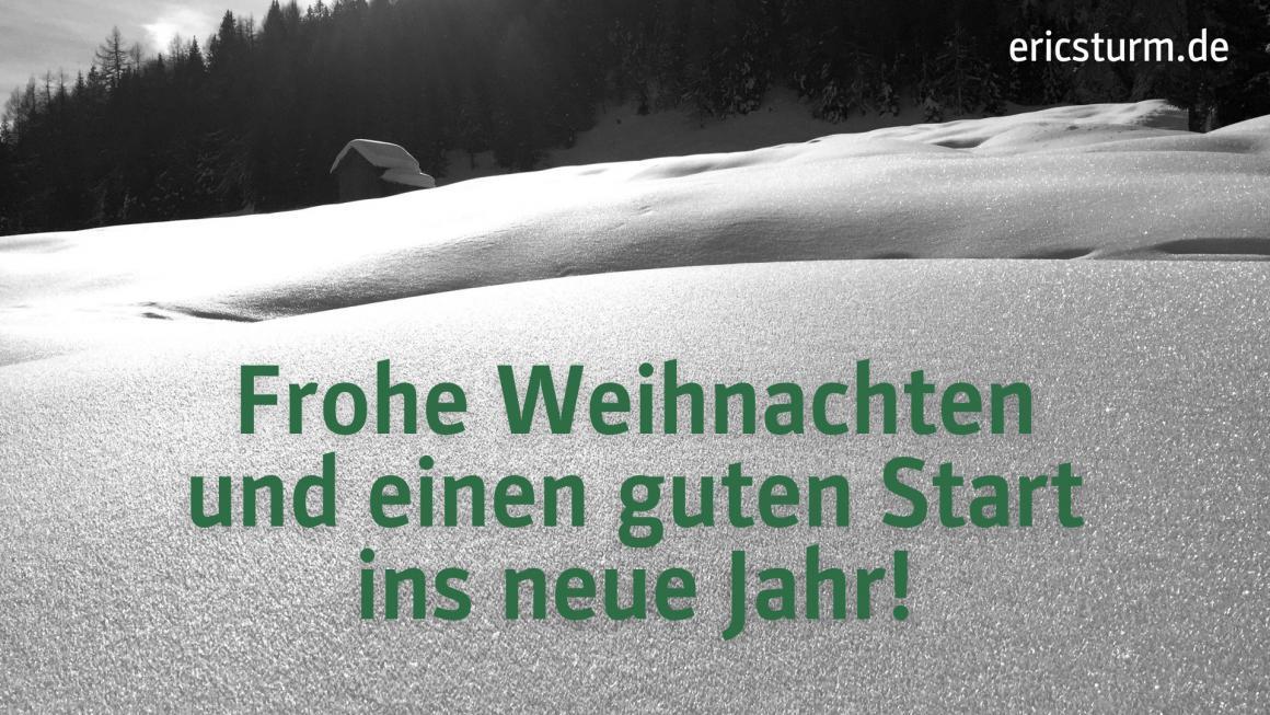 Weihnachtskarte ericsturm.de